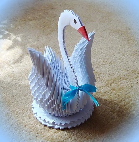 Как сделать лебедь