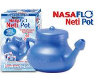 Free NeilMed NasaFlo Neti Pot