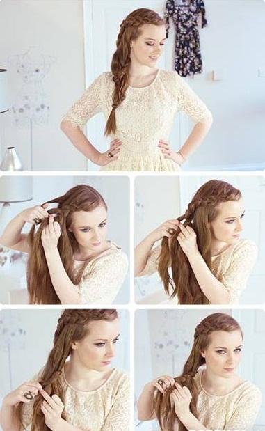 Peinados faciles y rapidos iv parte - Como hacer peinados faciles y rapidos paso a paso ...