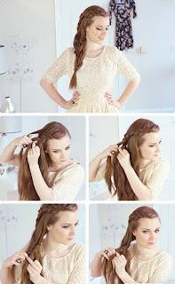 Peinados Faciles y Rapidos, III Parte, Peinado Romantico para Cabellos Espesos