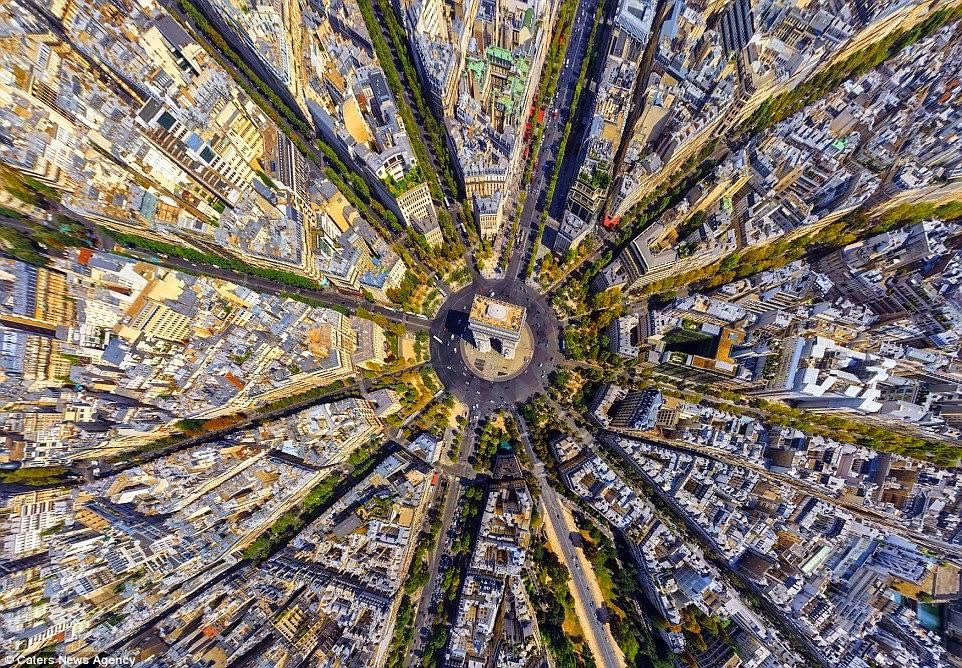 Arc de Triomphe, Paris Perancis