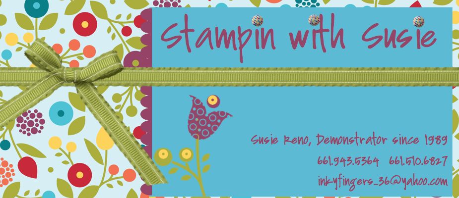 Stampin with Susie