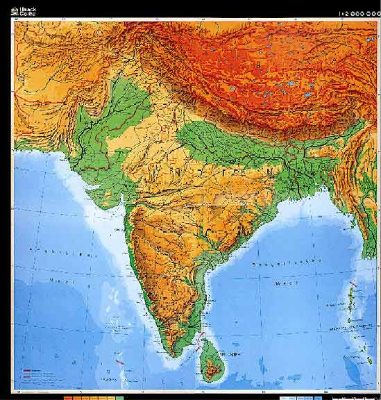 Free Worksheets topographic map worksheet answers : Geographical Features Of India Images - Frompo