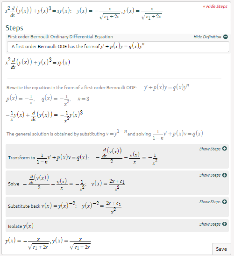 Symbolab Blog Advanced Math Solutions Ordinary Differential