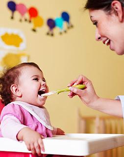 El Bebe y La Alimentacion, 7 Meses y Medio