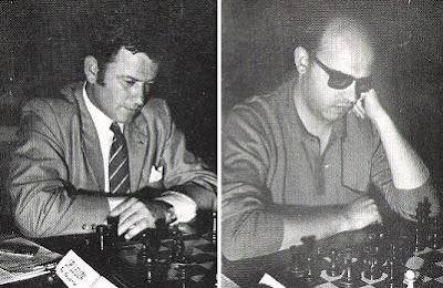 Los ajedrecistas José Leuza y José Luis Fanjul