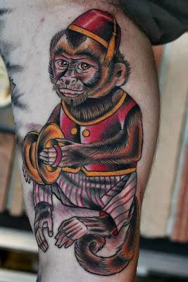 Tatuaje de monito