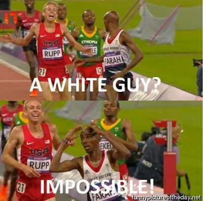 A White Guy Impossible Funny 2012 Olympics