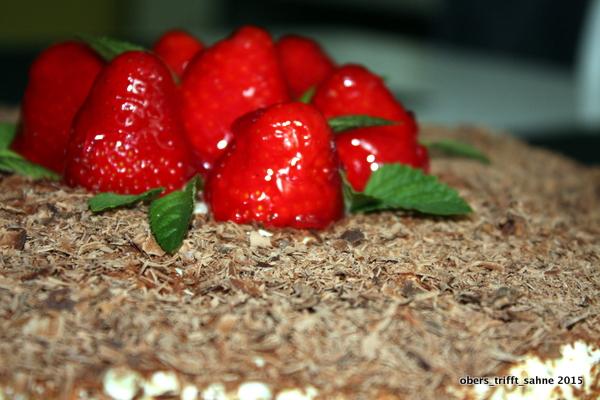 Torte mit Eierlikör