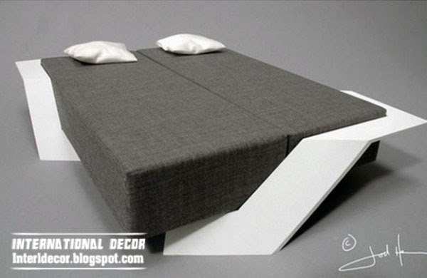 unusual bed, creative beds for modern interior
