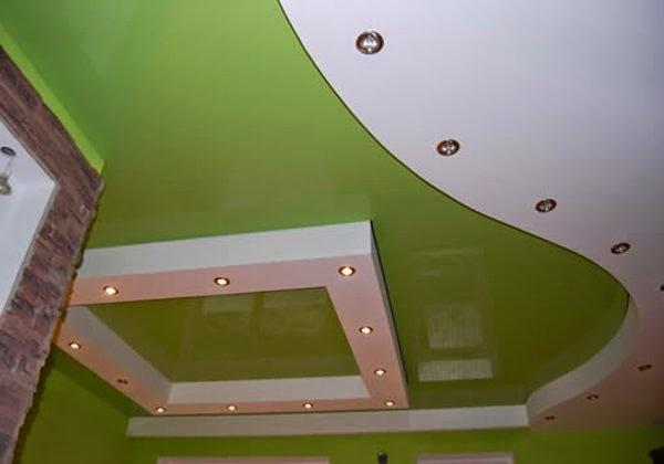 ceiling ideas for mobil home - 20 Luxury false ceiling designs made of PVC gypsum board