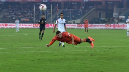 Delhi and NorthEast Play out draw ISL