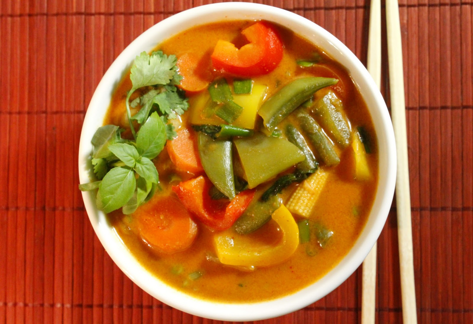 Babylon sisters summer meal ideas for Best thai red curry