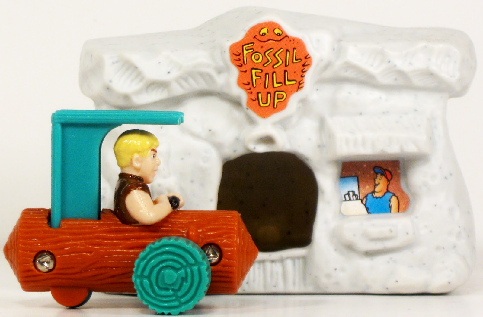 Toys and Stuff: McDonald\'s U.S. 1993 Barney & Fossil Fill-Up