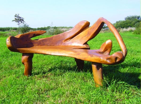 banco de jardim fazer: criar locais para o descanso ou para pequenas reuniões acomodando