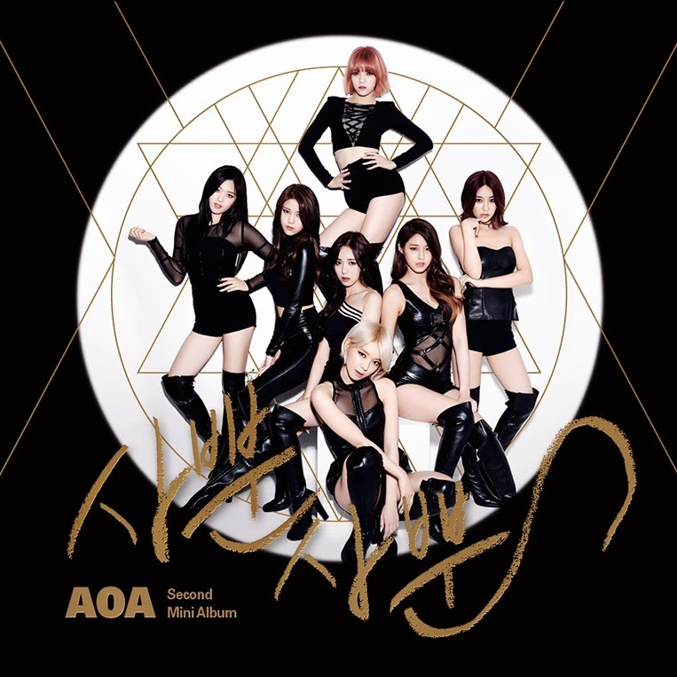 AoA 2nd mini album cover