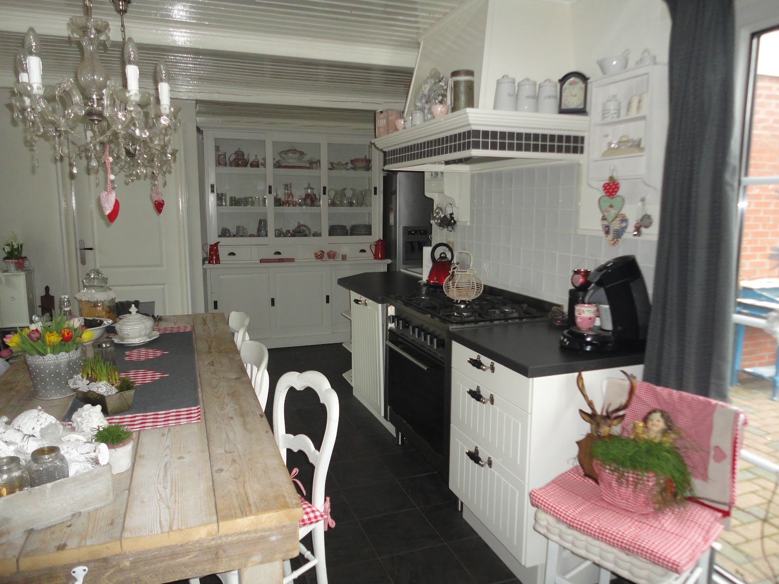 landelijke brocante keuken : Lovely Brocante Fleur En Kleur Op Woensdag