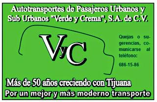 Transportes Verde y Crema