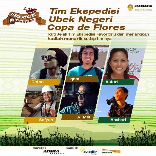 EKSPEDISI COPA DE FLORES 2014