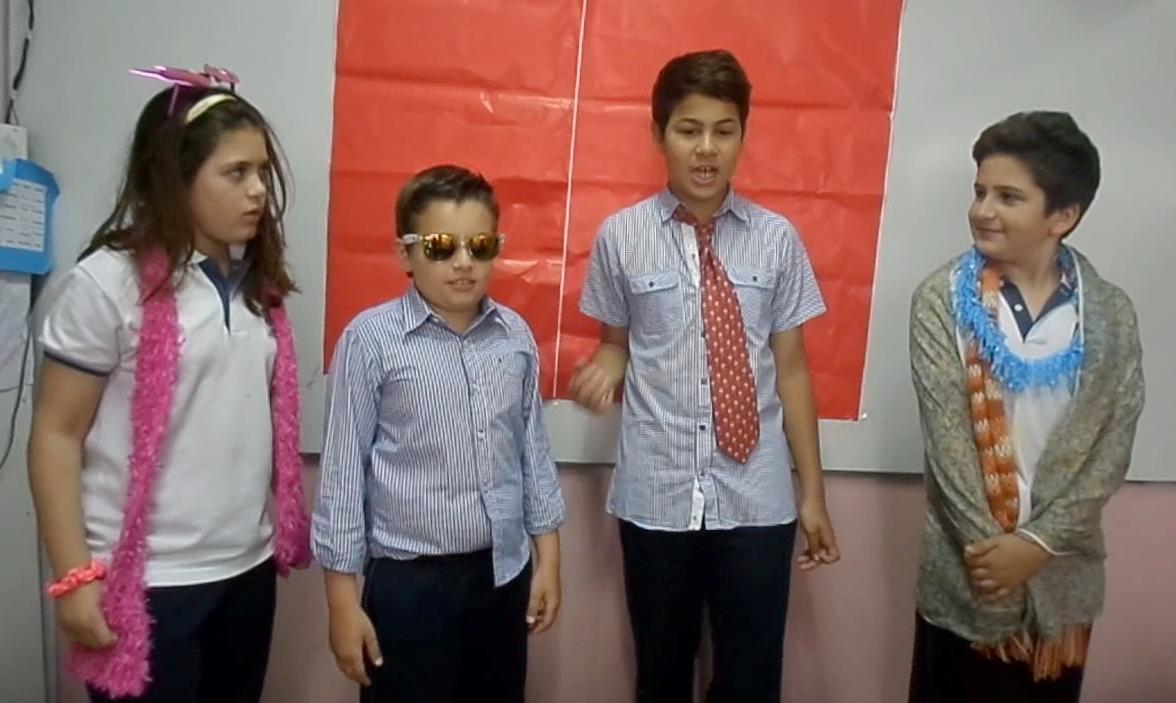 5º - CLASE ABIERTA DE INGLÉS - 2015
