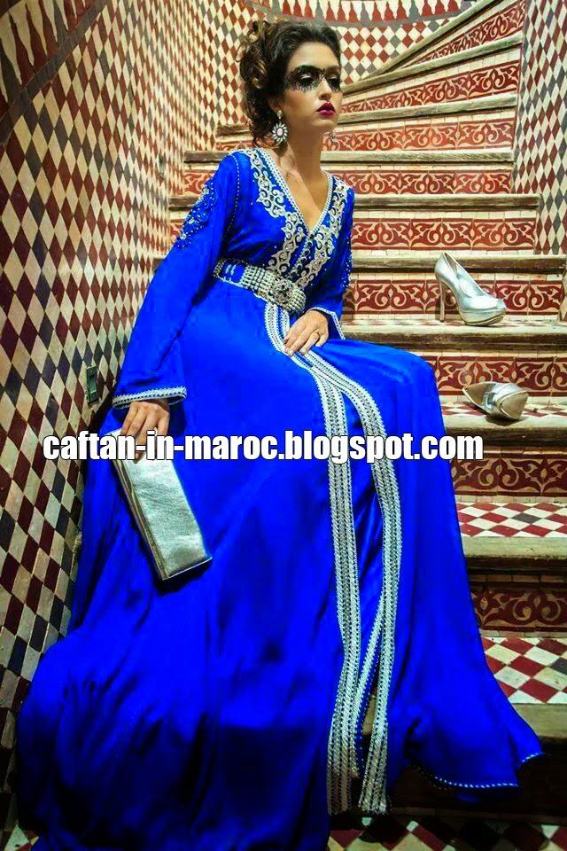 caftan bleu 2015