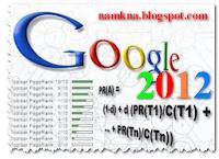 Công thức tính Page Rank (2012)
