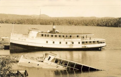 Steamer Katahdin II  and Twilight II - Moosehead Lake