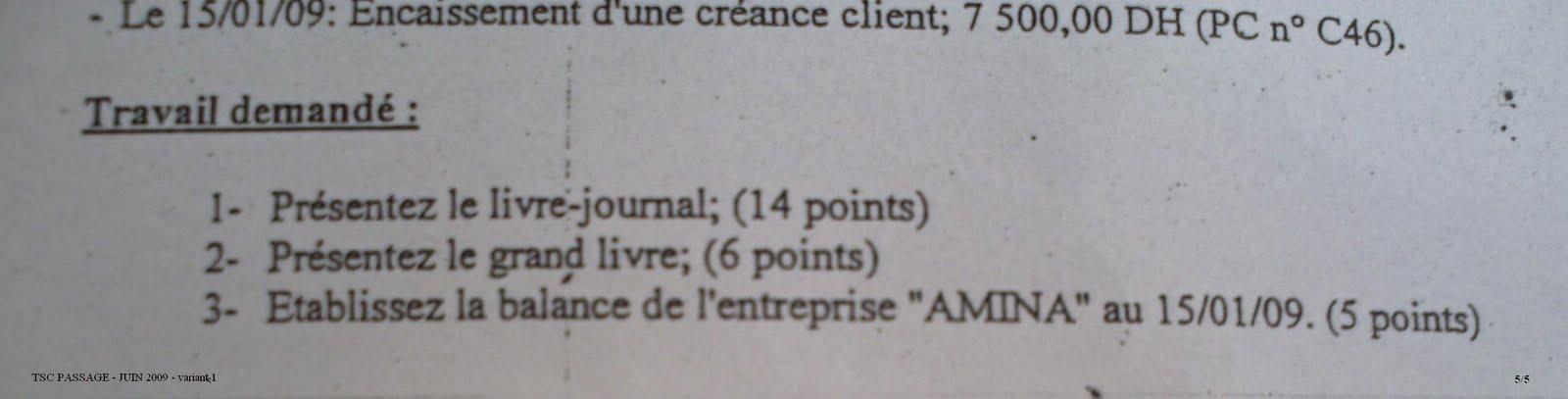 Examen de passage 2009 Pratique variante 1 TSC PICT0039