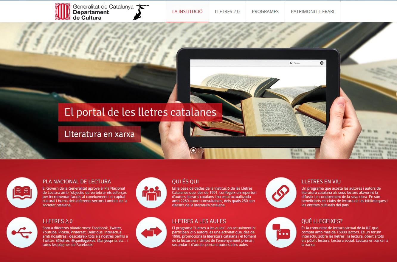 El portal de les lletres catalanes