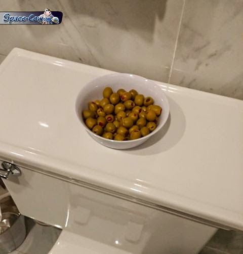 funny things green olives