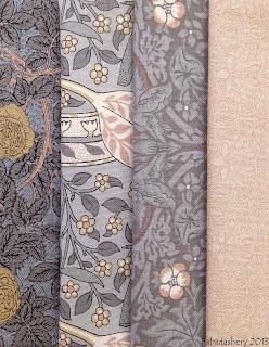 A Morris Tapestry Fabric, MODA, 8172 8177 8176 8171