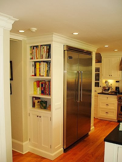 Storing cooking books 11 ideas for building bookshelves for Kitchen ideas book