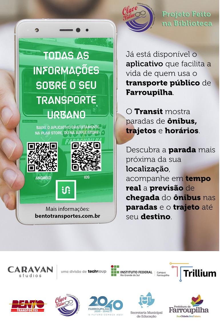 Aplicativo transporte público - Transit