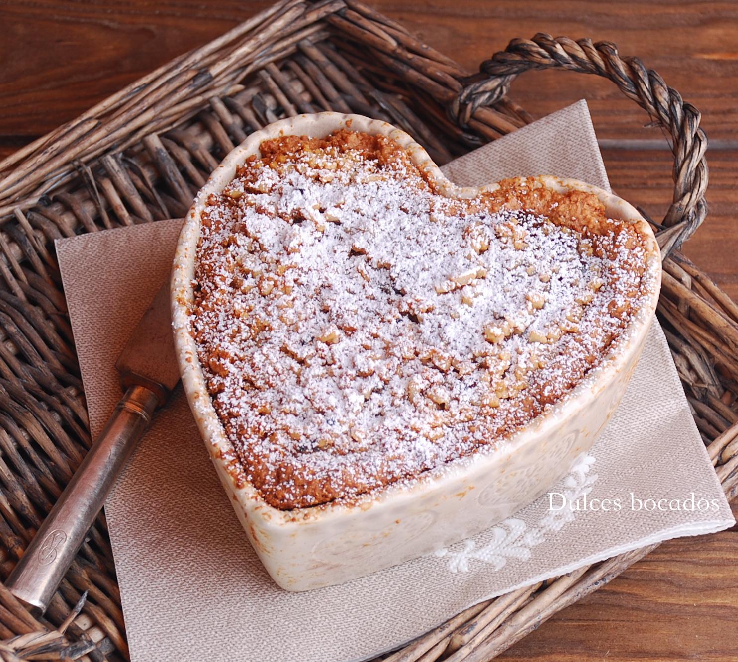 Crostata de chocolate y almendra - San Valentin - Dulces bocados