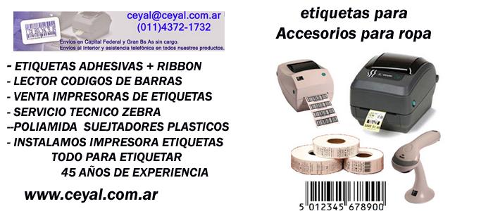 Service impresoras Zebra Confeccionista Textil