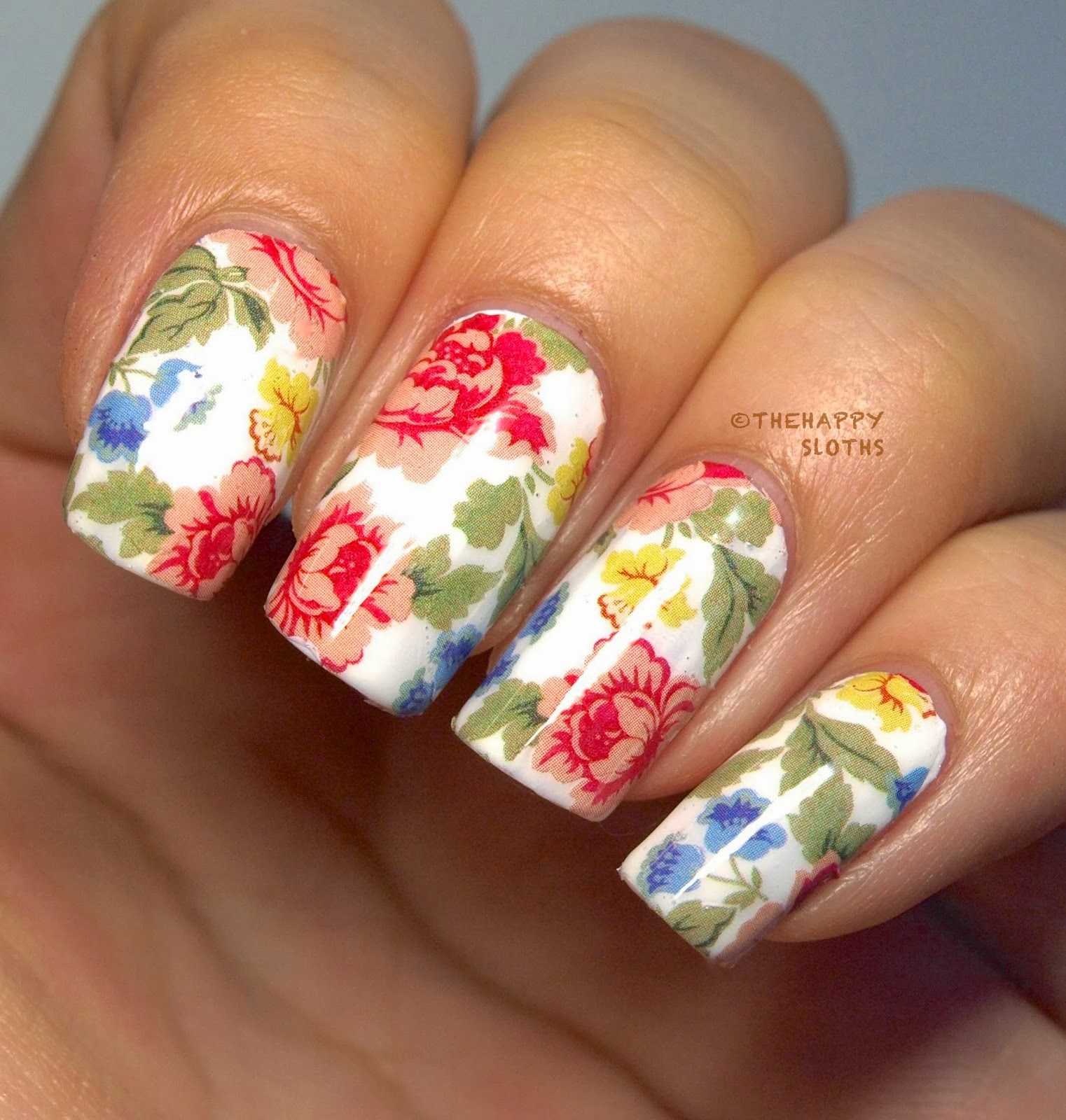 Full color nail art - Full Post Here Use The Nail Art Product 3d Nail Stickers Candy Color Mustache