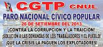 CGTP-CNUL 26-S PARO NACIONAL