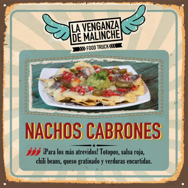 Nachos cabrones cocina mexicana