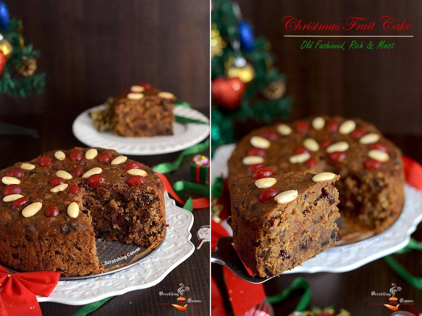 Indian style christmas cake recipe