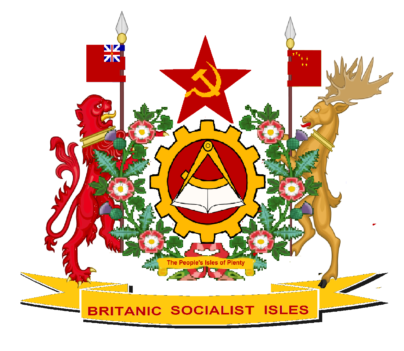 Sams flags communist british isles alternative history the sub national flags of great britain are england biocorpaavc