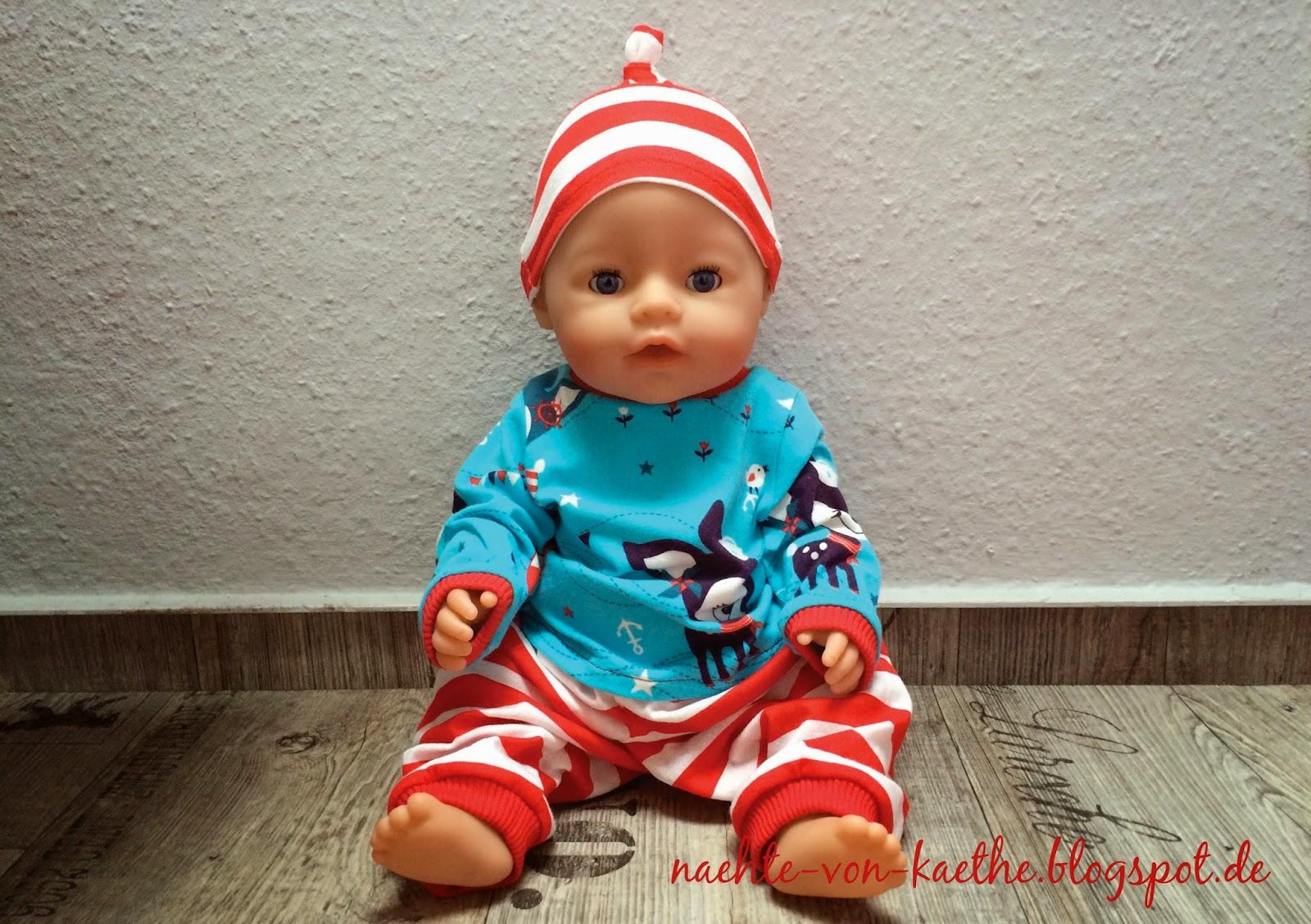 Puppenkleidung nach Klimperklein