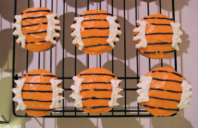 Calvin and Hobbes Themed Cupcakes  - Group of Hobbes Cupcakes