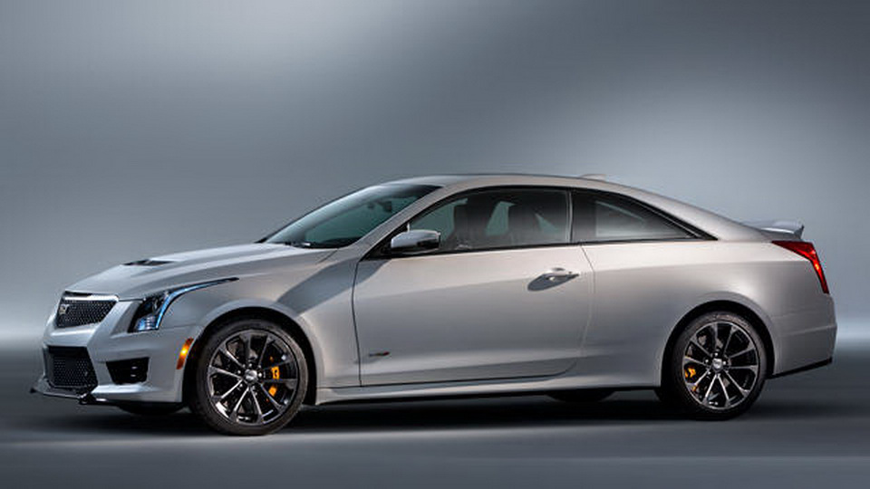 2016 cadillac ats v coupe in all its photo glory carscoops. Black Bedroom Furniture Sets. Home Design Ideas