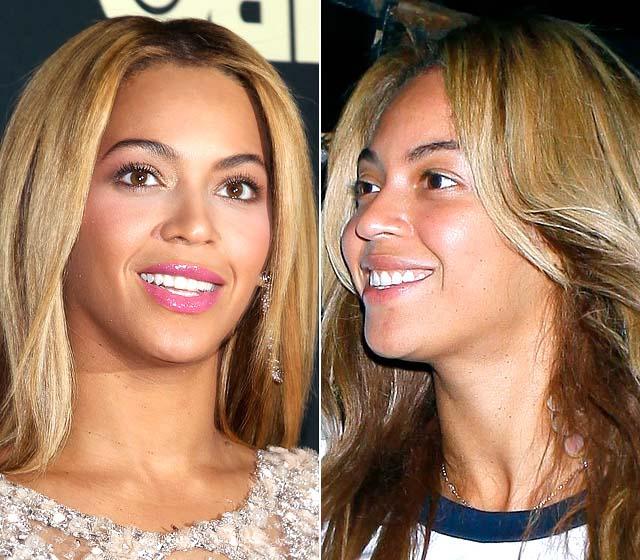 no Beyonce makeup knowles