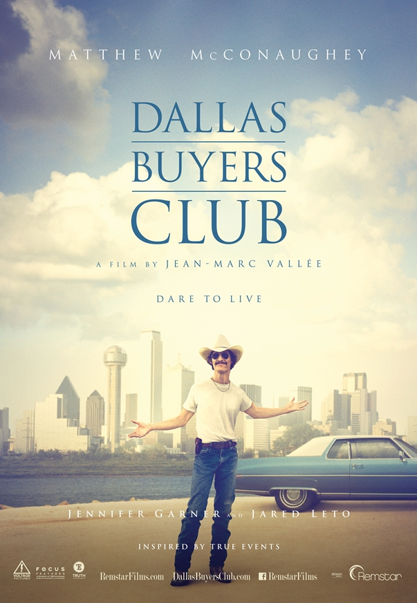 Dallas Buyers Club póster