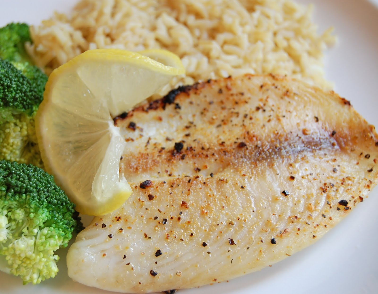Broiled Tilapia With Garlic Recipe — Dishmaps