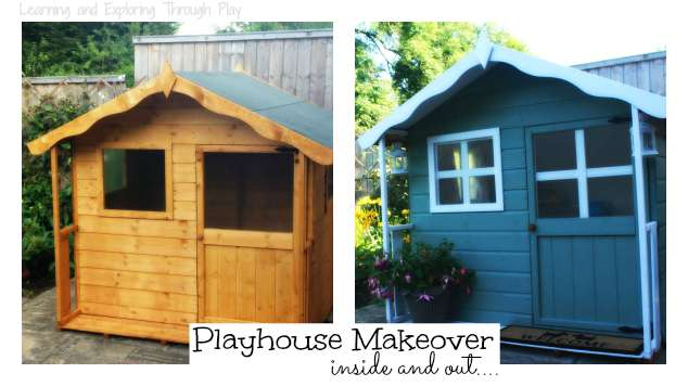 Learning and Exploring Through Play: Playhouse Makeover Inspiration