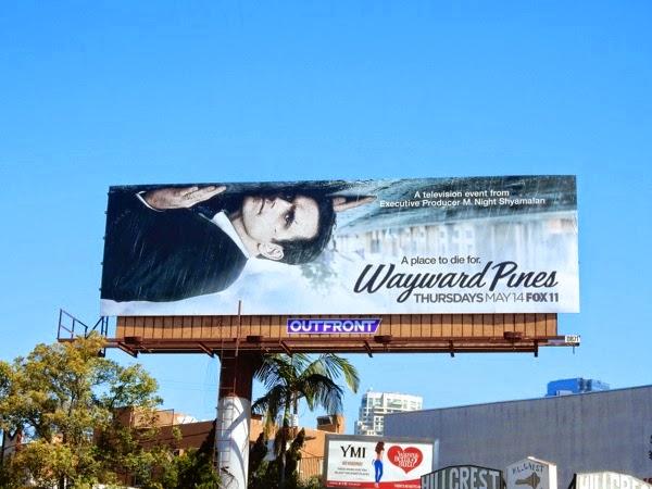 Wayward Pines series premiere billboard
