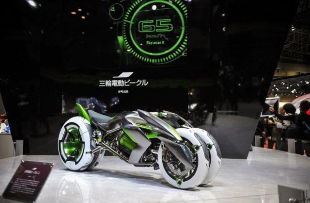Gambar Motor Kawasaki J