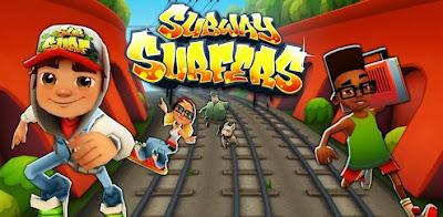 لعبة الهروب و المطاردة Subway Surfers الغنية عن التعريف للكمبيوتر
